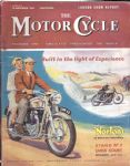 MOTOR CYCLE - MOTORCYCLE MAGAZINE - LONDON SHOW REPORT - 19TH NOVEMBER 1953 - M2314